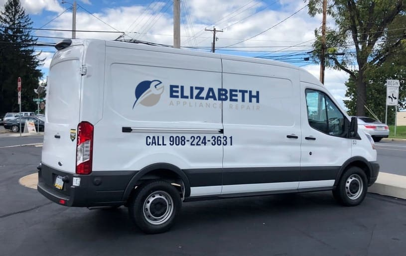 elizabeth appliance repair van